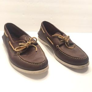 Sperry Top Siders classic boat shoes brown 9
